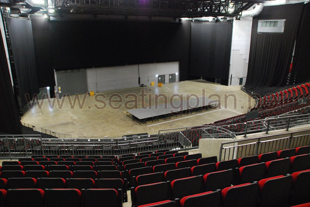 View from Seat Block 213 at First Direct Arena