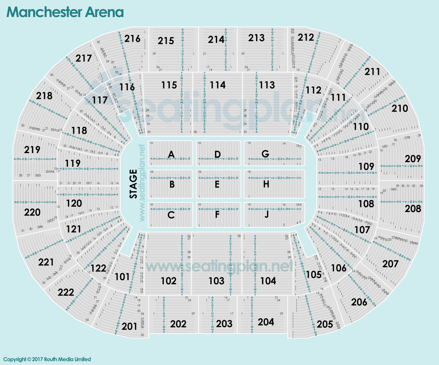 O2 Arena Floor Seating Plan Manchester Arena Seating Chart Adele Brokeasshome Com