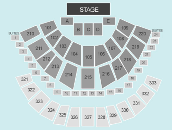 Seating Plan at First Direct Arena
