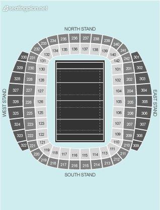 Etihad Stadium Manchester View From Seat Block 207