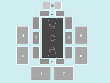 basketball Seating Plan at Motorpoint Arena Cardiff
