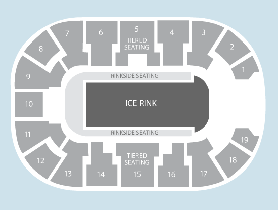 ice Seating Plan at Motorpoint Arena Nottingham