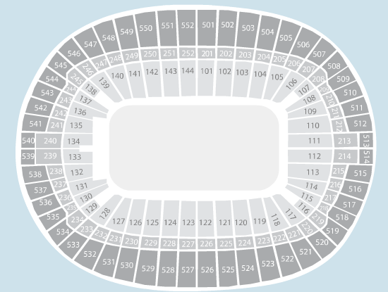 sport Seating Plan at Wembley Stadium